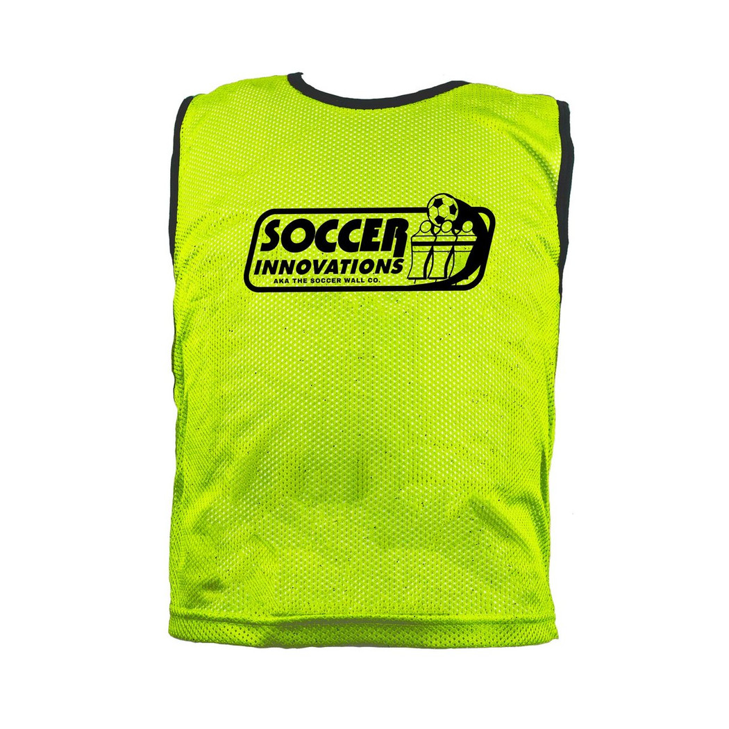 Premium Soccer Bibs Set Neon Green | Soccer Training Equipment Bibs & Accessories