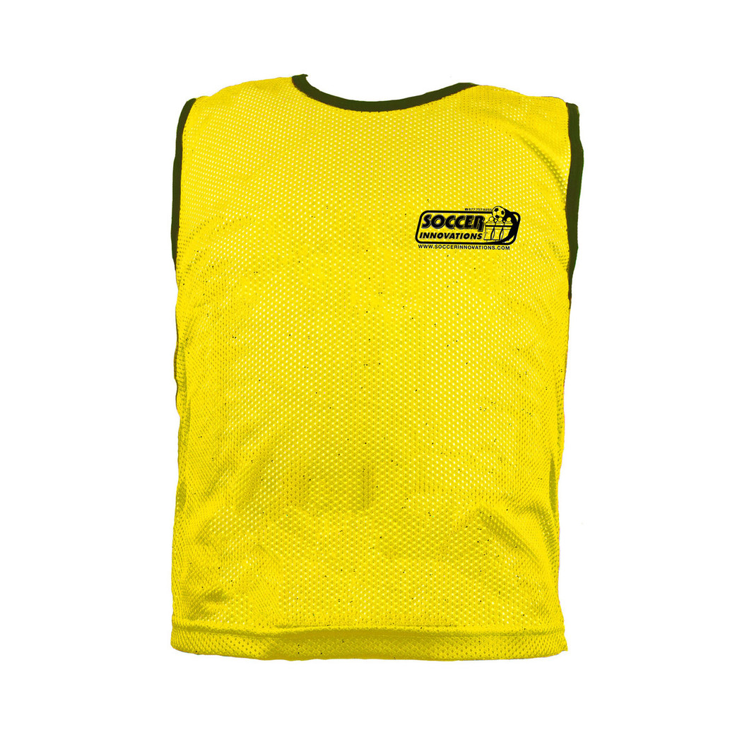 Premium Soccer Bibs Adult Set Yellow | Soccer Training Equipment Bibs & Accessories