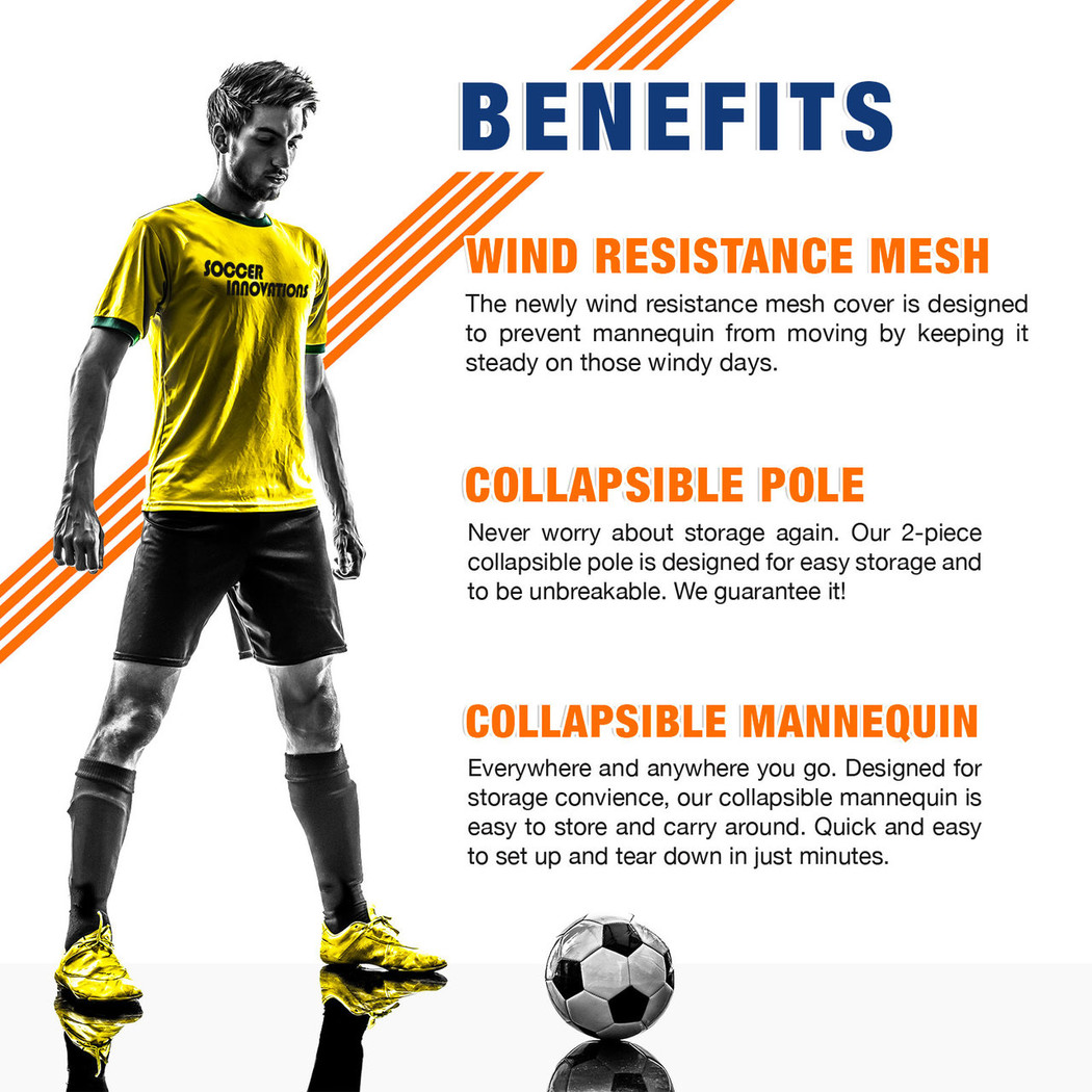 Soccer Wall Free Pro Kick Mannequin Benefits