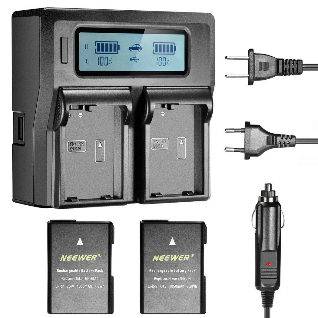 Video Tower Batteries and Charger
