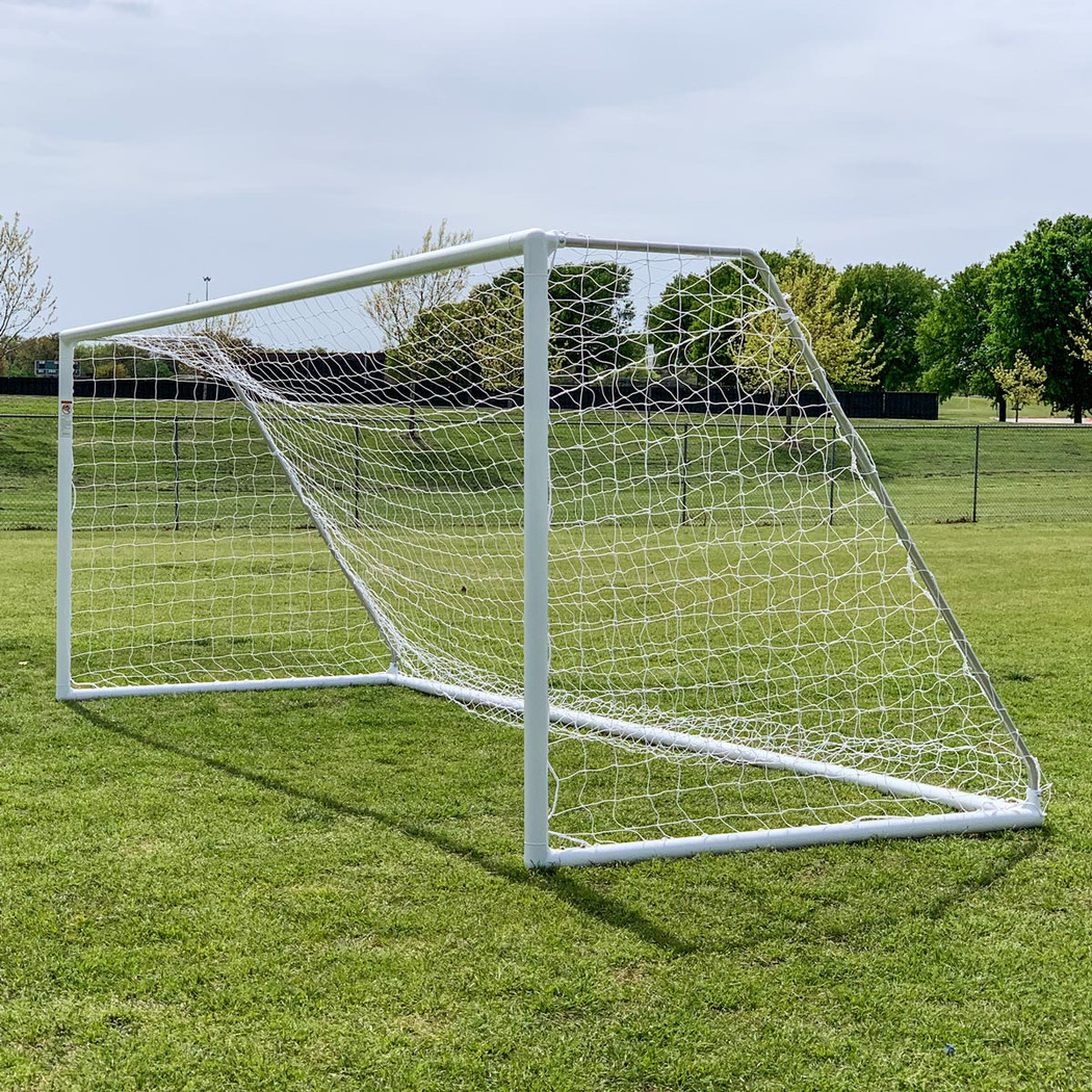 Regulation 8x24 Premier Park Soccer Goal Posts | Soccer Training Equipment Regulation Soccer Goals