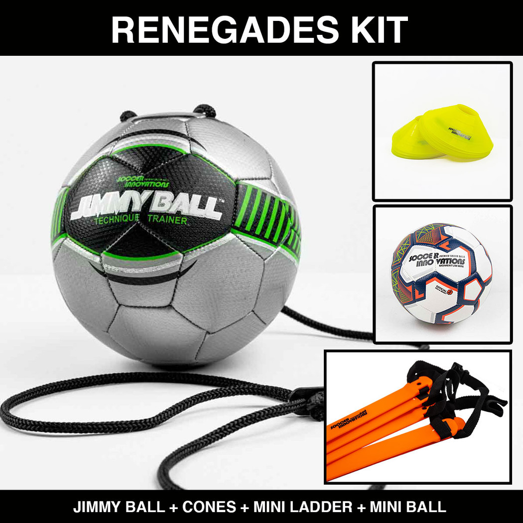 Renegades Home and Backyard Soccer Training Kit