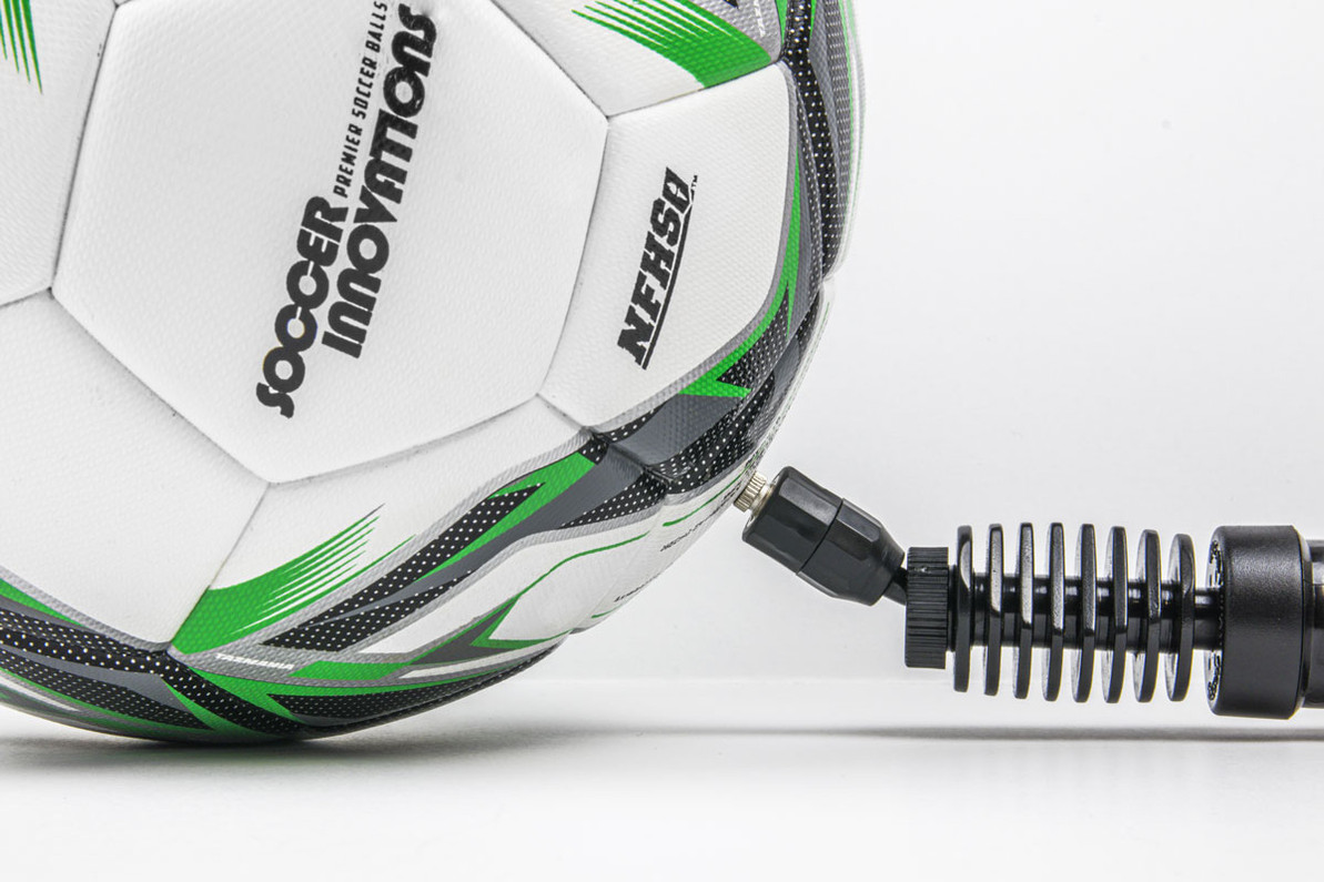 Properly Inflating A Soccer Ball