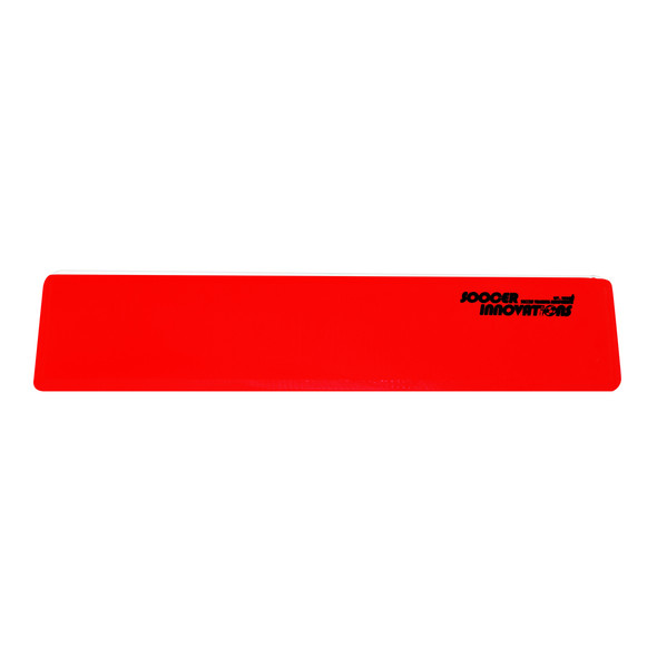 Flat Marking Strips Red