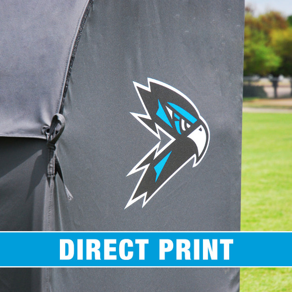 MVP III Stadium Sports Team Shelter Bench Cover with Direct Print| Soccer Innovations Sport Bench Shelter Covers
