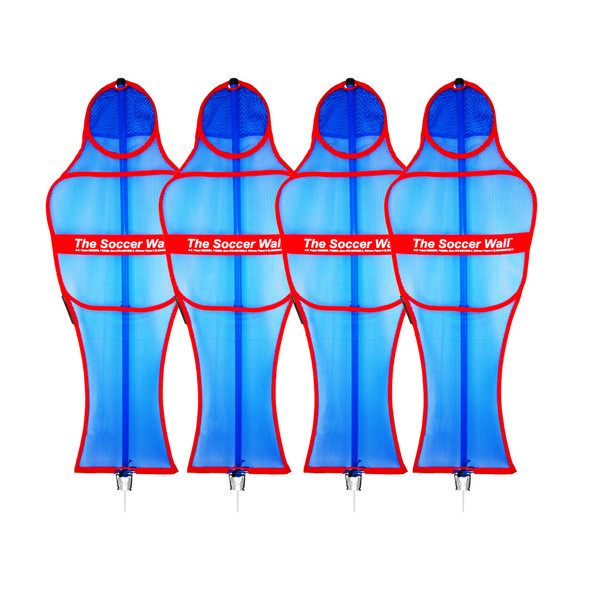 Soccer Wall Free Kick Mannequin Set | Soccer Innovations Training Equipment Free Kick Mannequins