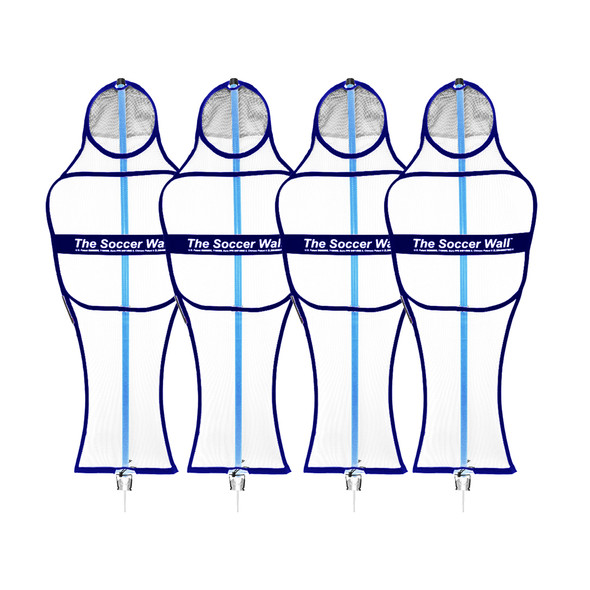 Soccer Wall Club Free Kick Mannequin | Soccer Innovations Training Equipment Free Kick Mannequins