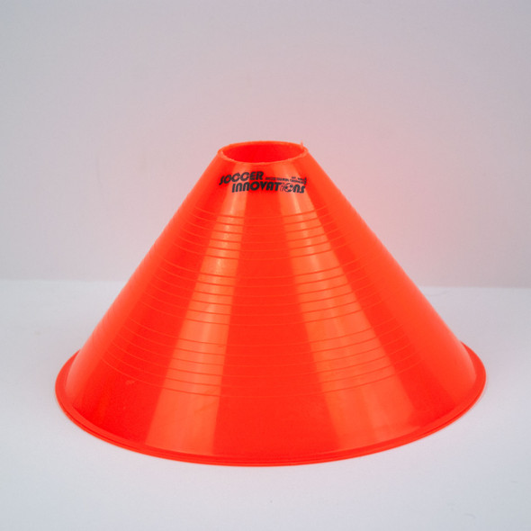 "10"" Tall Soccer Cone - Orange"