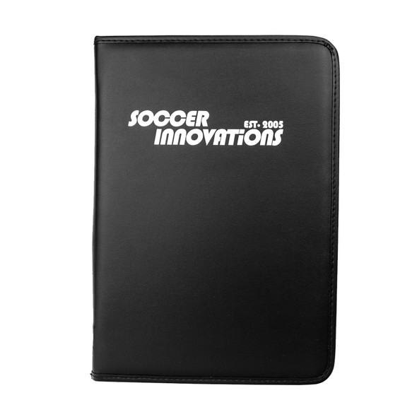 Premier Black Coaches Folder | Soccer Equipment Accessories Tactic Boards & Folders