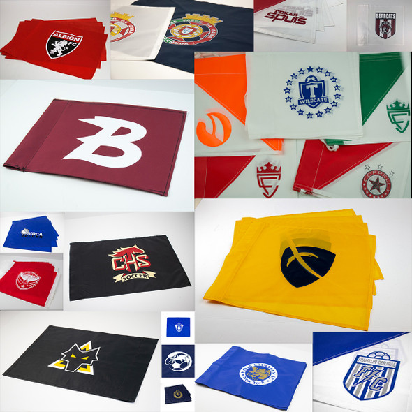 Custom Soccer Corner Flags with logo