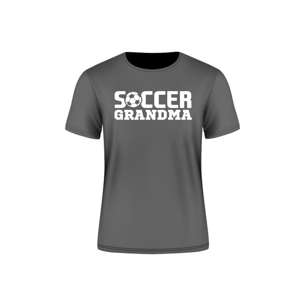 Grey Arsenal Soccer Grandma T-Shirt
