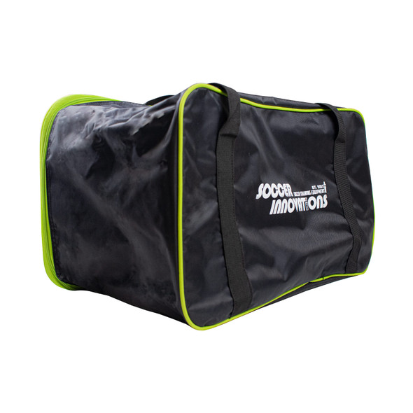 BUD Carry Bag with Neon Green Trim