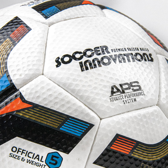Hyper Sonic Soccer Ball - Thermo Bonded - Golfball Panel