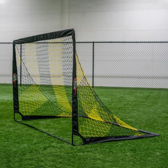 3x4 Small Pop up Goal black and yellow