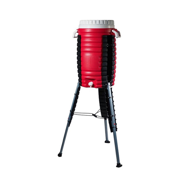Kosmo Creek Cooler - Red water cooler with stand