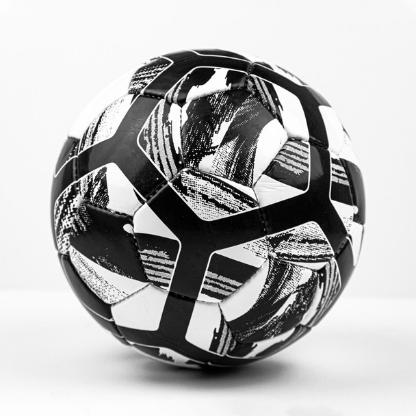USA Evolution Hand stitched Soccer Ball black