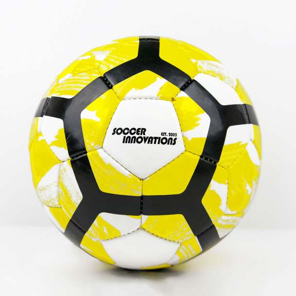USA Evolution Hand stitched Soccer Ball Yellow