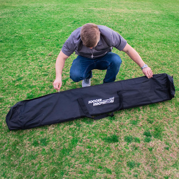 Speed & Agility Pole Set with Free Carry Bag | Speed and Agility Soccer Training Equipment