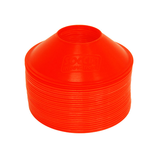 Mini Soccer Cones Set Orange | Speed and Agility Soccer Training Equipment