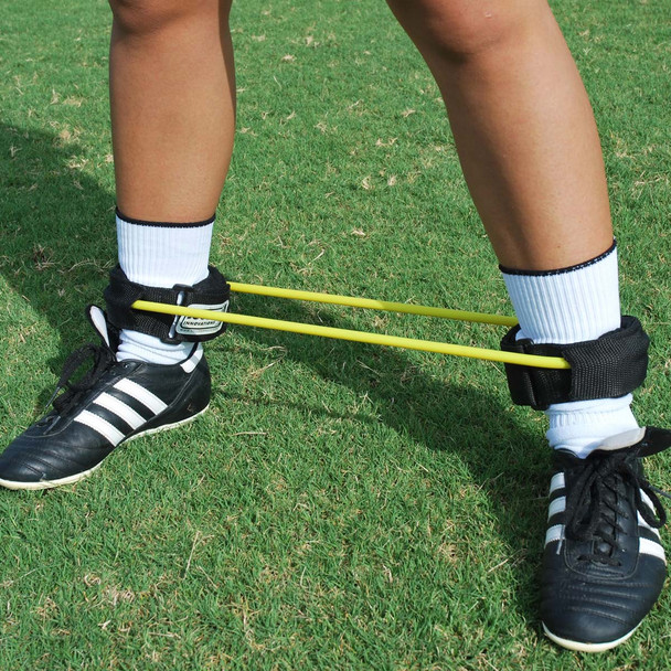 Ankle resistance band for soccer