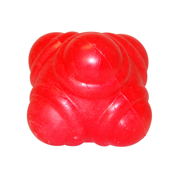 Red GK Reaction Ball   Speed and Agility Soccer Training Equipment