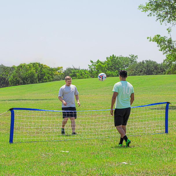 High and Low Soccer Tennis Set | Soccer Training Equipment Nets