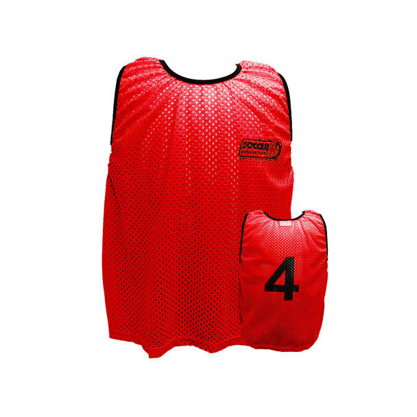 Numbered Training Vests with numbers | Soccer Training Equipment Bibs & Accessories
