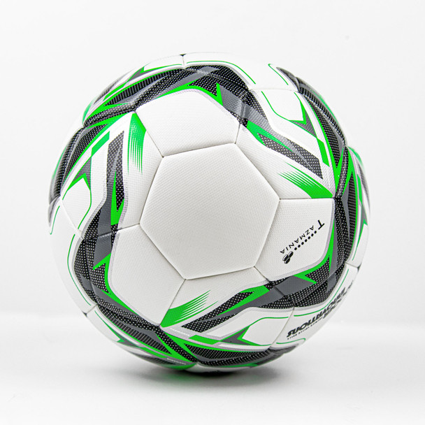 Tazmania Thermo Match Soccer Ball Side View