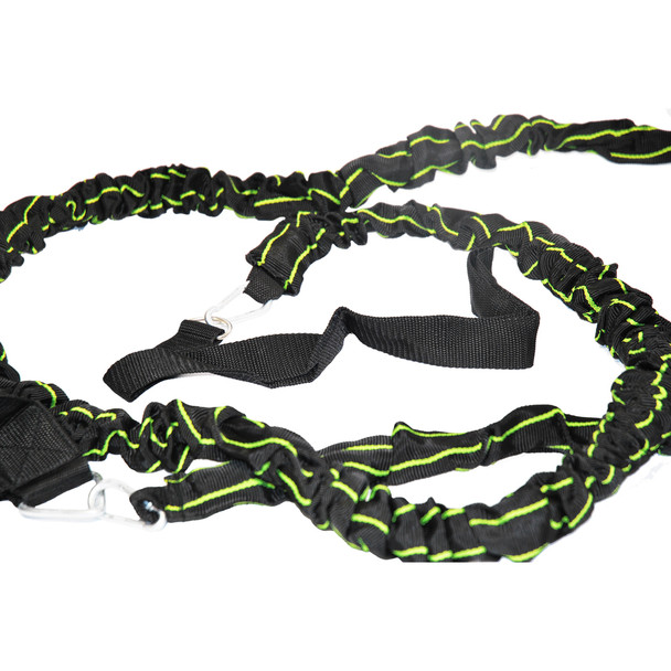 Solo Resistance Speed Trainer | Speed and Agility Soccer Training Equipment - Bungee Cord
