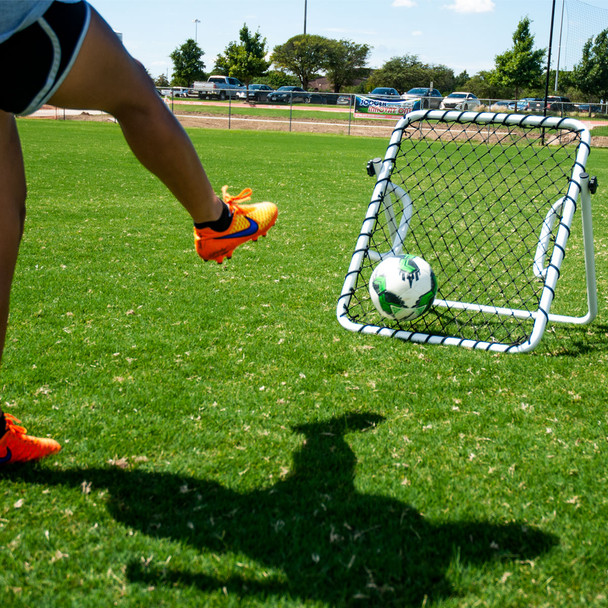 Rebounder Pro with Handles   Soccer Innovations Training Equipment Rebounders