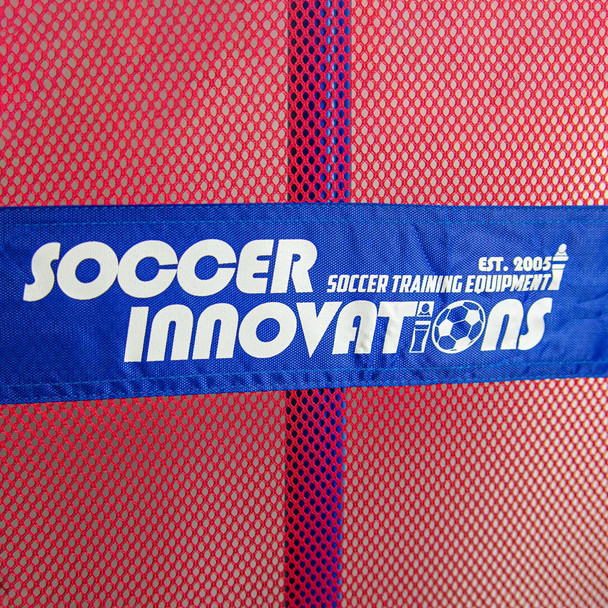 Youth soccer mannequin mesh with logo