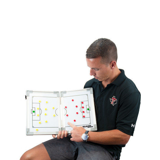 Magnetic Hinge Soccer Tactic Coaching Board Lifestyle