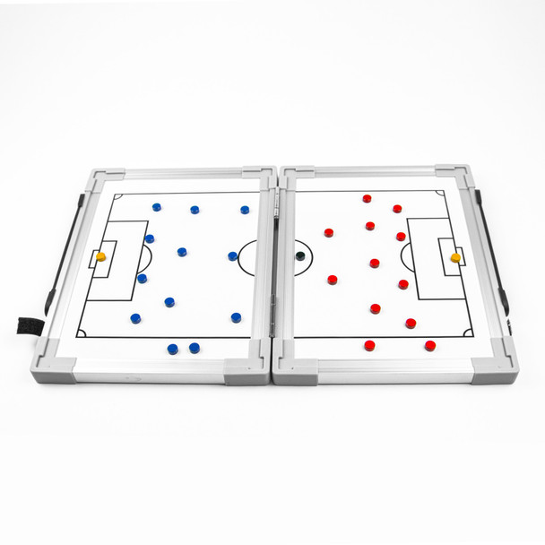 Hinge Tactic Board with Red and Blue Magnets