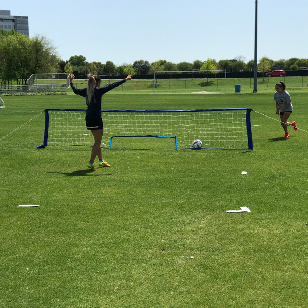 Field Marking Set with Bag  and Soccer Skills Net