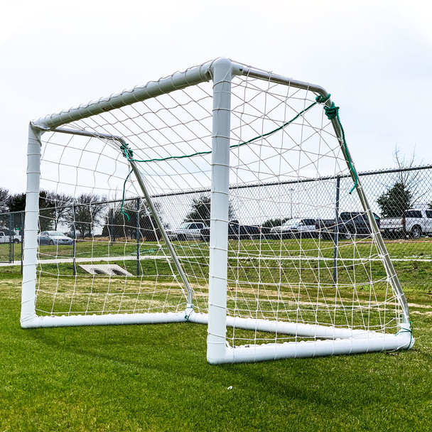 4x6 Soccer Goal Side View