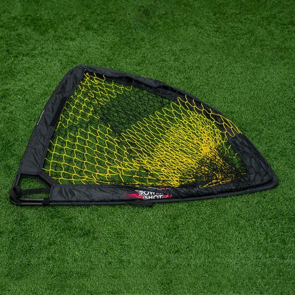 3x4 square pop up portable soccer goal folded