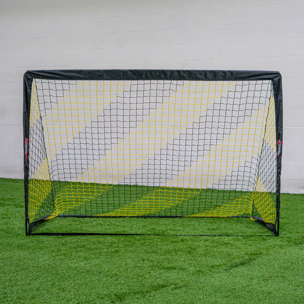 4x6 Pop Up goal black and yellow