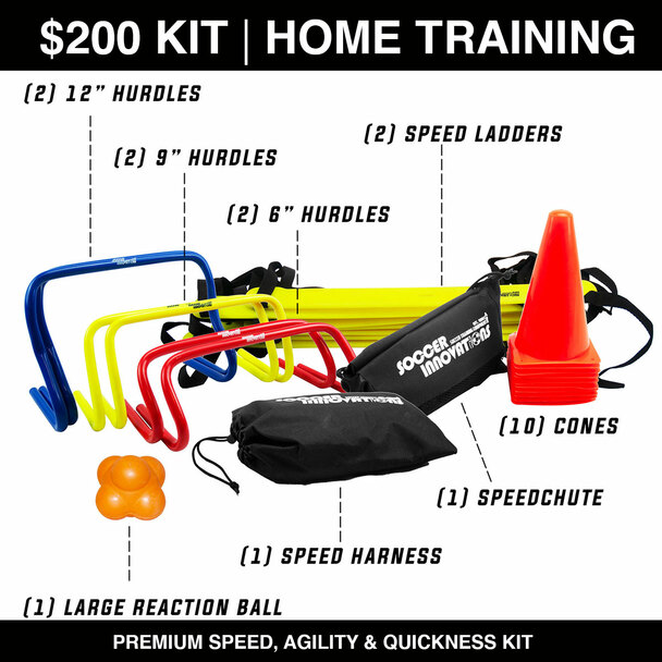 Premium Speed and agility home training kit