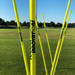 Yellow Speed & Agility Pole Set with Free Carry Bag | Speed and Agility Soccer Training Equipment