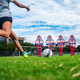 Soccer Wall Youth Free Kick Mannequin Shooting