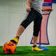 Soccer Wall Turf Free Kick Mannequin Player Holding Ball