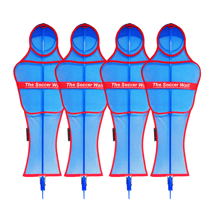 Soccer Wall Pro Free Kick Mannequin Set | Soccer Innovations Training Equipment Mannequins