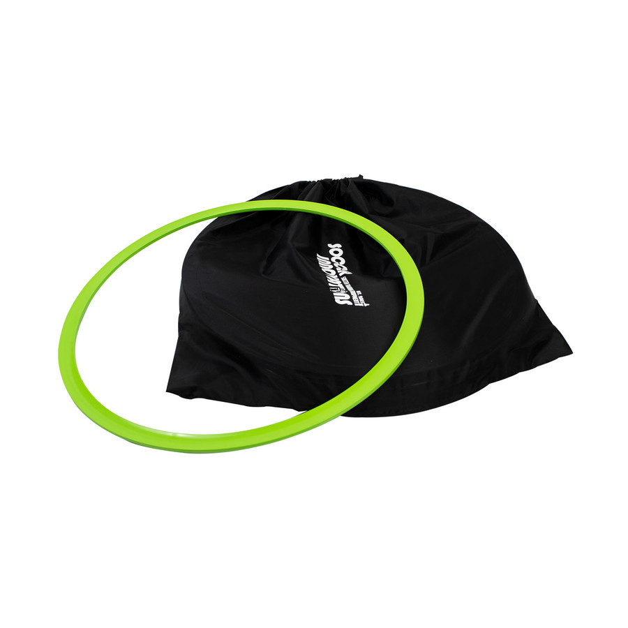Soccer Speed Ring Bag with Neon Green Speed Ring