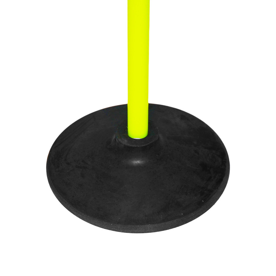 Speed Training Pole with Turf Base | Speed & Agility Soccer Training Poles