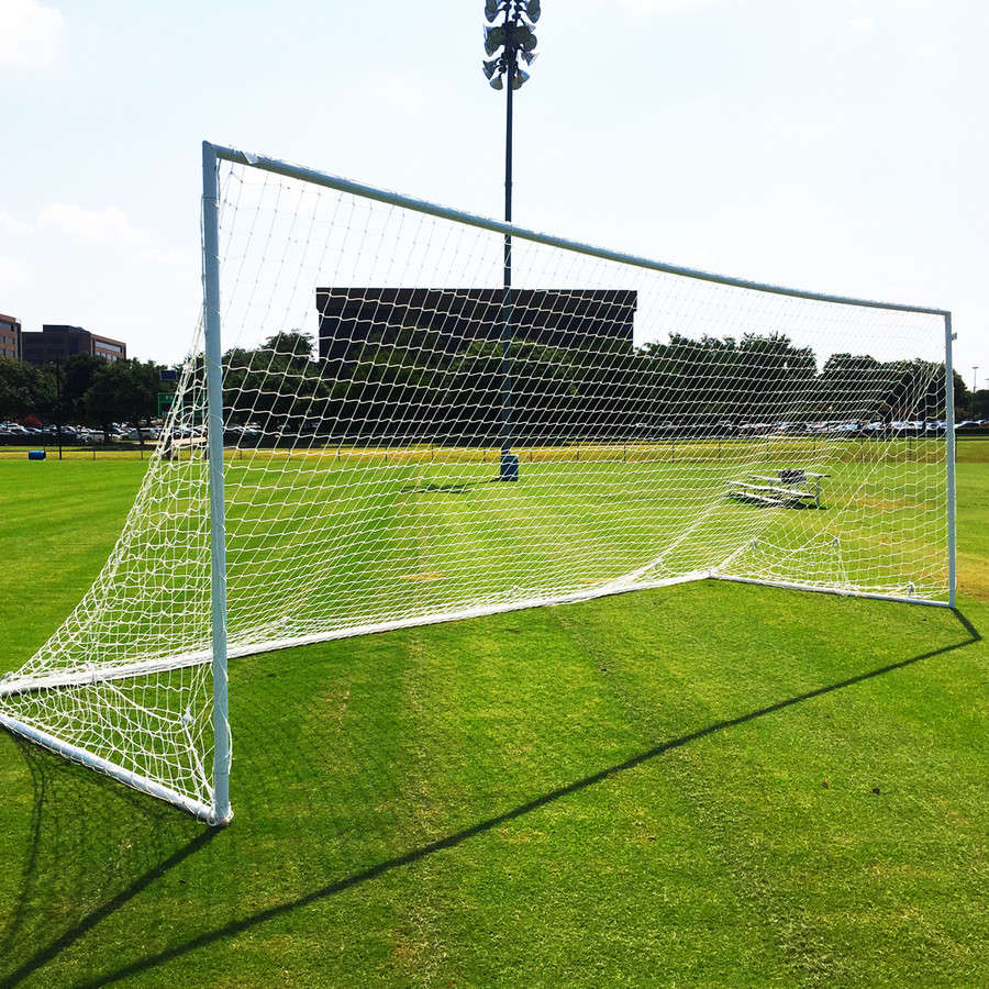 6'x18' & 8'x24' Premier Economy Aluminum Soccer Goals | Soccer Training Equipment Goals