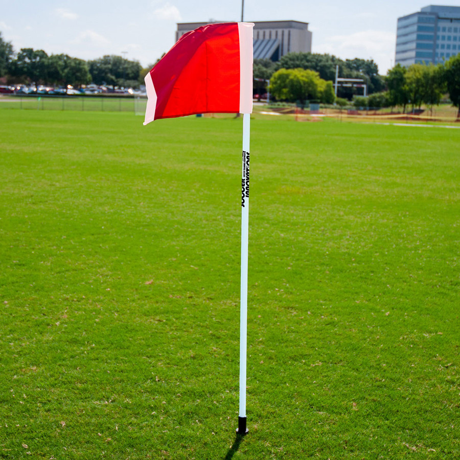 Soccer Corner Flag with Spike | Soccer Equipment Corner Flags