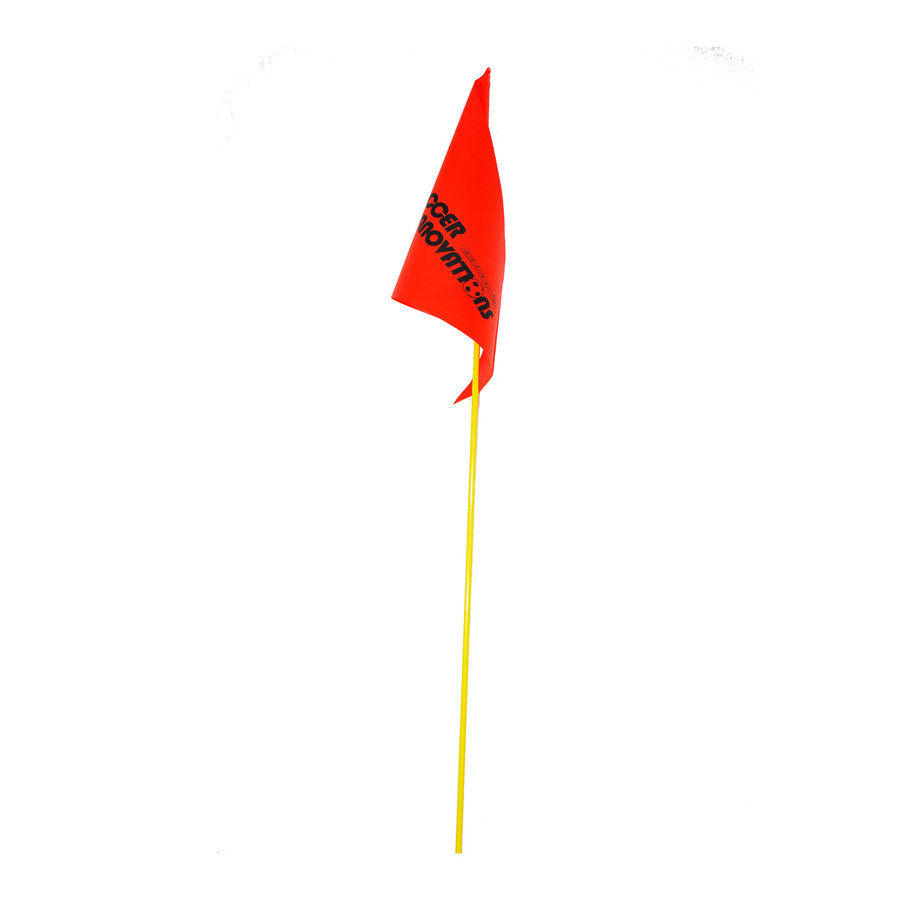Orange Fiberglass Soccer Corner Flag