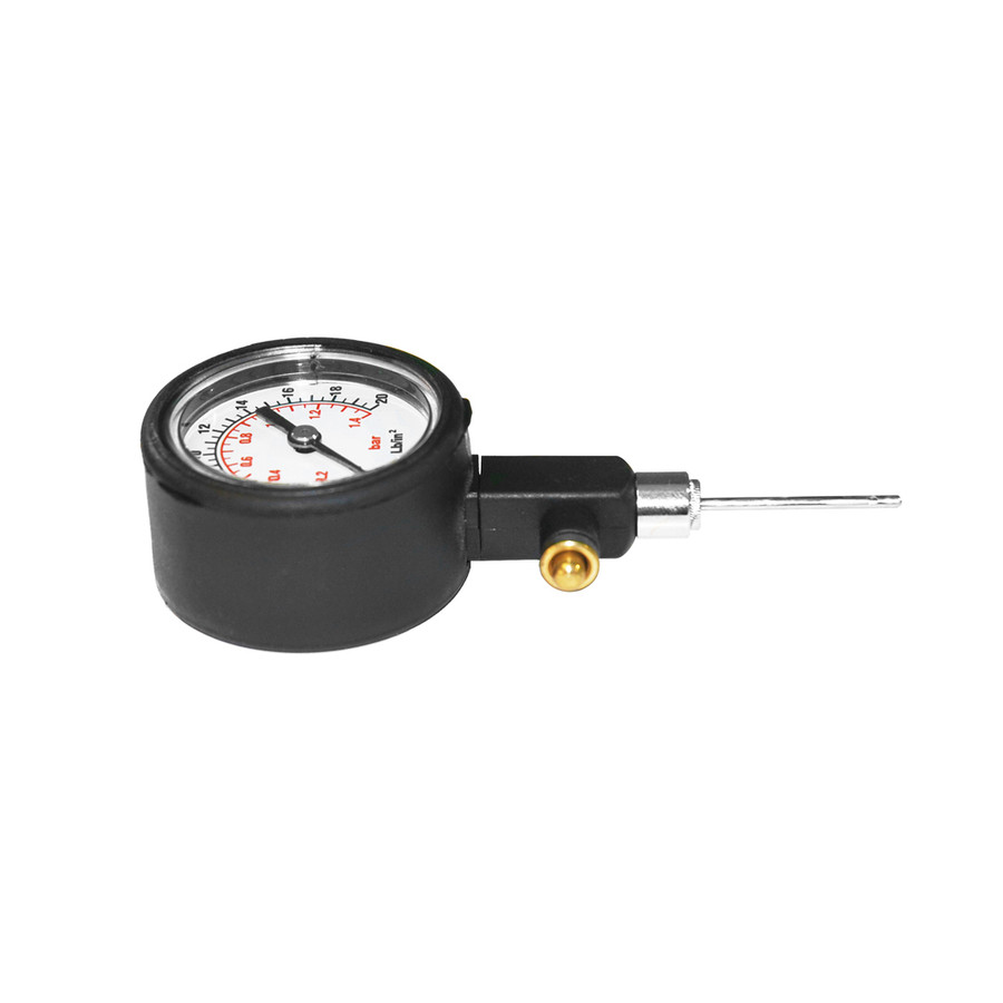 Ball Pressure Gauge Sideview