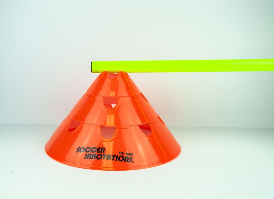 "30"" Soccer Hurdle Pole for 3 position hurdle cones"