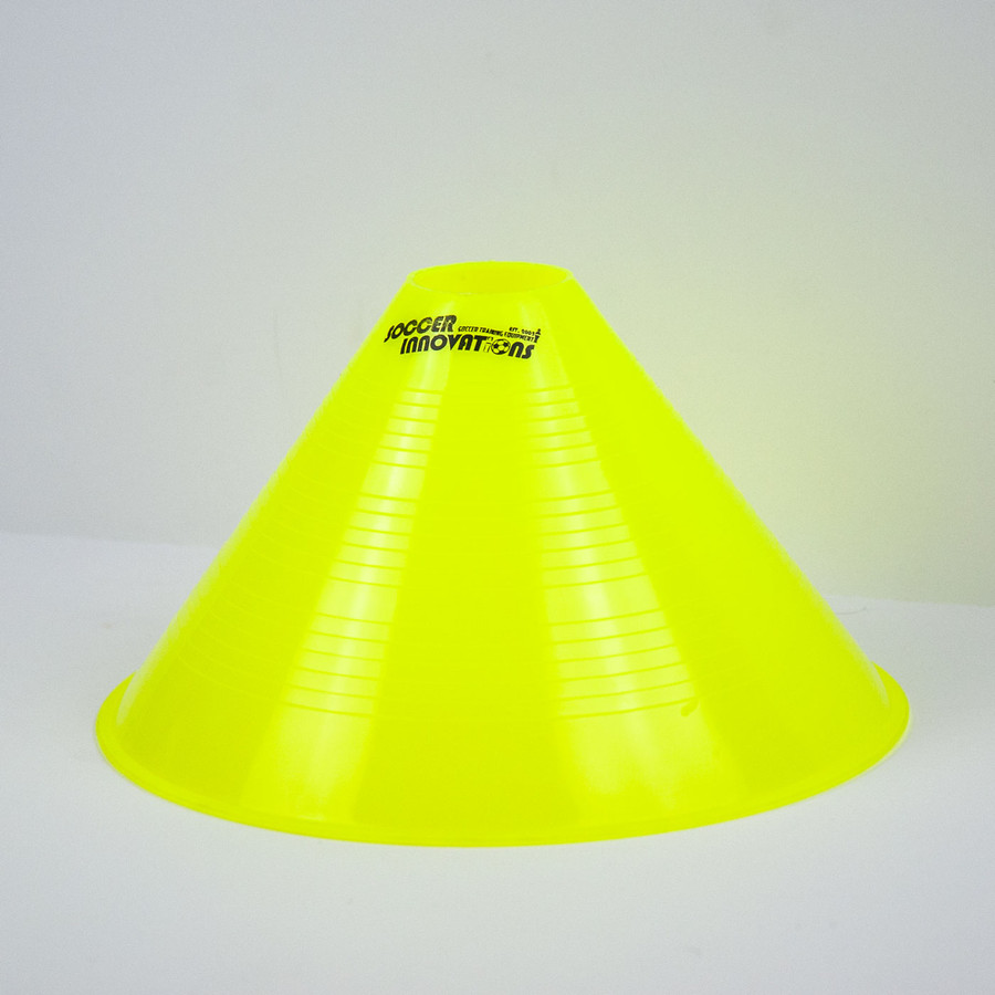 "10"" Tall Soccer Cone - Yellow"